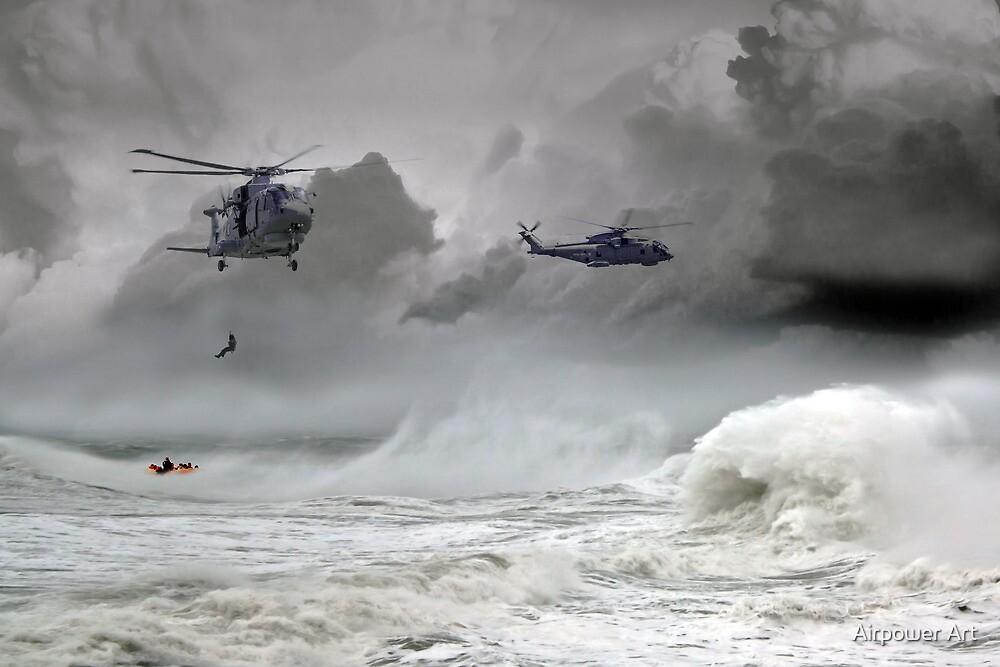 Merlin Rescue by J Biggadike