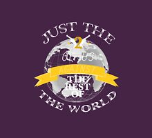 Two Of Us Against The Rest Of The World (White+Yellow) T-Shirt