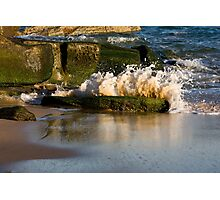 Little Explosion - Beachcomber Series Photographic Print