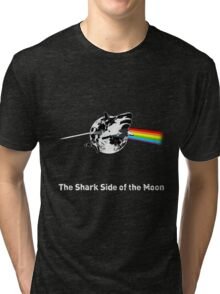 The Shark Side of the Moon Tri-blend T-Shirt