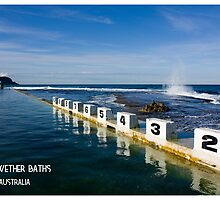 Merewether Baths - Beachcomber Series by reflector