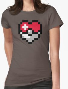 Pokéheart Womens Fitted T-Shirt