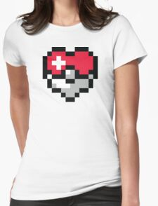 Pokéheart Womens Fitted T-Shirt