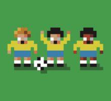 "Sensi Tee: Brazil: ""Canarinho"" (""Little Canary"") One Piece - Short Sleeve"