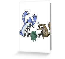 Regular Time Greeting Card