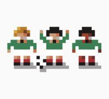 """Sensi Tee: Mexico: """"El Tri"""" One Piece - Short Sleeve"""