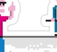 Jeremy Kyle Show - DNA Test (8bit) Sticker