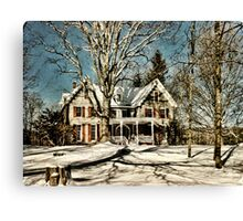 Manville Wakefield Home Canvas Print