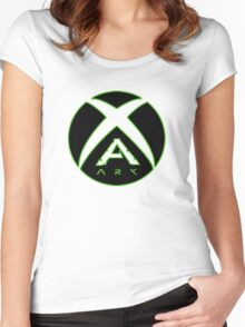 Ark Survival Evolved XBOX Women's Fitted Scoop T-Shirt