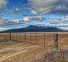 Gateway to the Stirling Ranges by BigAndRed