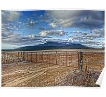 Gateway to the Stirling Ranges Poster
