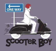 Scooter Boy One Way by velocitygallery