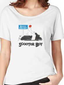 Scooter Boy One Way Women's Relaxed Fit T-Shirt