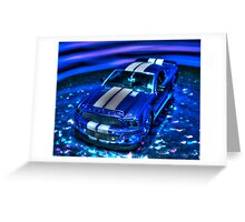 Aerican Muscle 3 Greeting Card