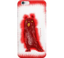 FUZZY BEAR N0 1 iPhone Case/Skin