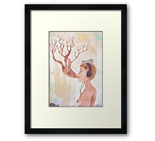 Nature is Ancient Framed Print