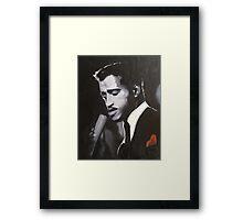 Sammy Davis Jr. Original portrait painting Framed Print