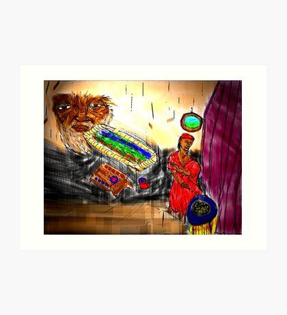 ETHIOPIAN ABODE Art Print
