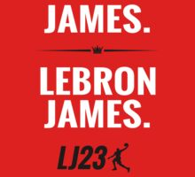 My Name is James. Lebron James. by idandesign