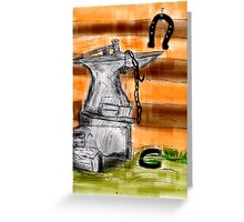 A SMITH'Y TOOLS Greeting Card