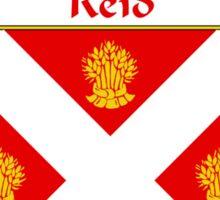 Reid Coat of Arms / Reid Family Crest Sticker