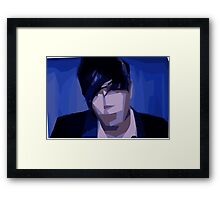 Marianas Trench Josh Abstract Framed Print