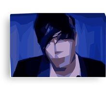 Marianas Trench Josh Abstract Canvas Print