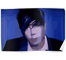 Marianas Trench Josh Abstract Poster