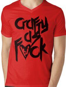 Crafty As Fuck Tee Mens V-Neck T-Shirt