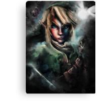 Legend of Zelda Link is One Epic Hylian Canvas Print