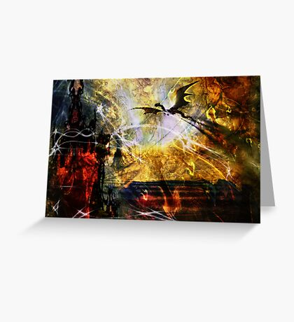 Dragon Realms IV Greeting Card