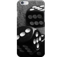 Retro B&W Dice iPhone Case/Skin