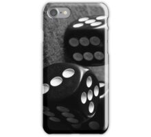 Retro B&W Dice iPhone Case/Skin