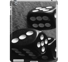 Retro B&W Dice iPad Case/Skin