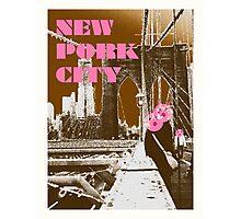 New Pork City Photographic Print