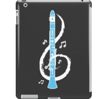 Musical Clarinet Treble Clef iPad Case/Skin