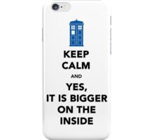 Yes It Is Bigger (On The Other Side) iPhone Case/Skin