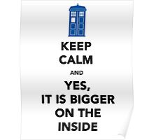 Yes It Is Bigger (On The Other Side) Poster