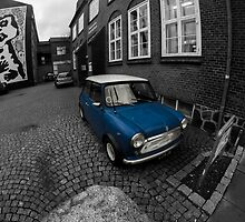 British Leyland Mini by Daniels Photoshop
