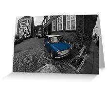 British Leyland Mini Greeting Card