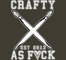Crafty As Fuck College Tee T-Shirt
