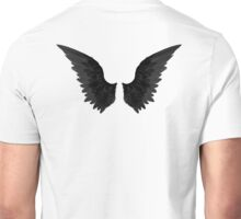Supernatural Black Angel Wings Unisex T-Shirt