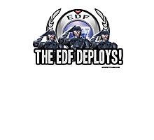 Earth Defense Force The EDF Deploys!  Photographic Print