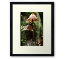 We barely remember what came before this precious moment Framed Print