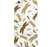 Dragonfly Silhouette Pattern iPhone Case/Skin