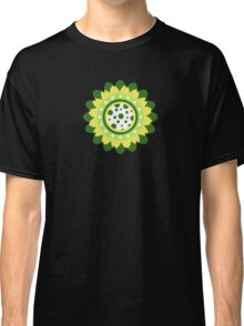 Abstract Sunflower Pattern Classic T-Shirt