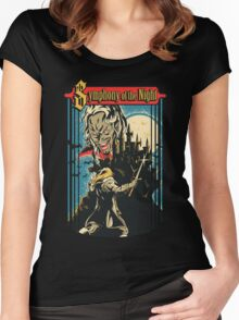 Symphony of the Night Women's Fitted Scoop T-Shirt