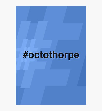 Octothorpe Photographic Print