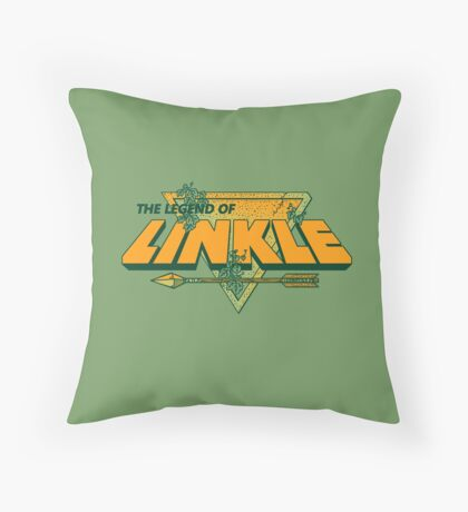 LEGEND OF LINKLE Throw Pillow