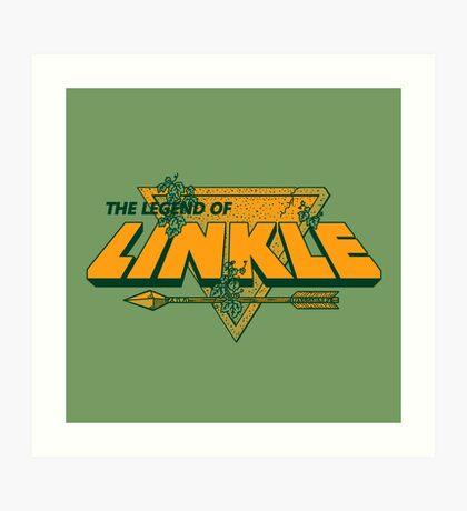LEGEND OF LINKLE Art Print